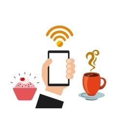 Wifi service design vector