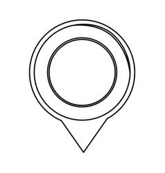 Map pointer symbol vector