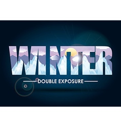 Doble exposure vector