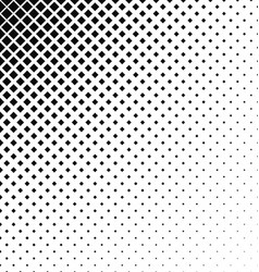 Abstract monochrome square pattern background vector