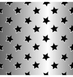 metallic stars texture vector image vector image