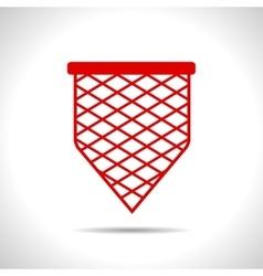 scoop-net icon vector image