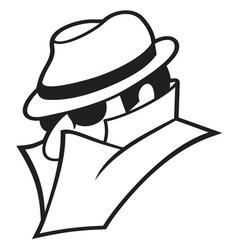 Spy icon1 resize vector image