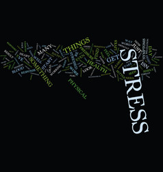 Are you stressed out text background word cloud vector