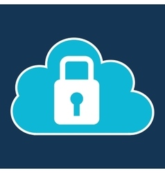 Cloud code developing lock system vector