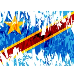 Democratic Republic of Congo vector image vector image