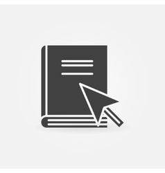 Internet education icon vector image vector image