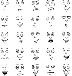 Smiles expressions vector