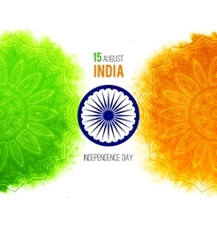 Creative indian independence day concept with vector