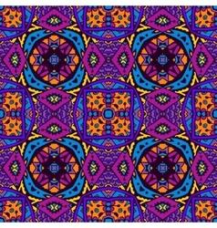 Seamless colorful geometric design vector