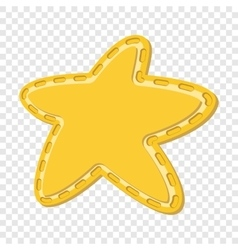 Star cartoon icon vector image