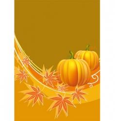 Thanksgiving border vector