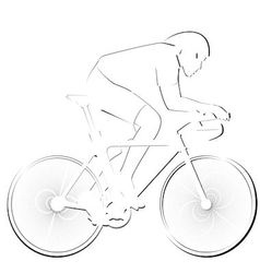 Facilities Cycling vector image