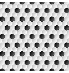Soccer ball abstract texture vector image