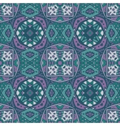 Ethnic tribal seamless colorful geometric pattern vector