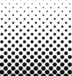 Abstract black and white octagon pattern design vector