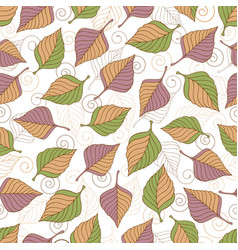 aut leaves collect-02 vector image vector image