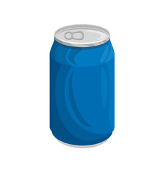 can of soda vector image