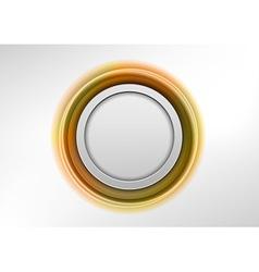 Circle gold vector