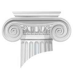 Classical order ionic capital vector