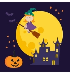 Cute halloween vector
