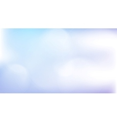 Light blue abstract gradient bokeh background vector