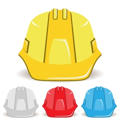 Safety Helmet set vector image