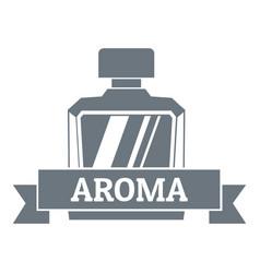 Aroma logo vintage style vector