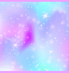 Valentine background with pink glitter hearts vector