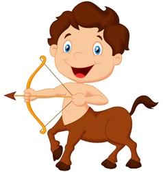 Zodiac symbol Sagittarius vector image vector image