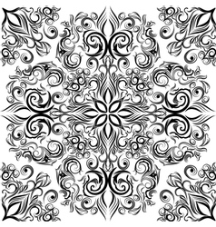 Seamless arabesque pattern vector