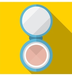 Powder flat icon vector
