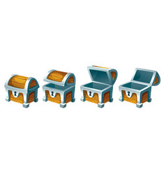 Treasure chest for animation vector