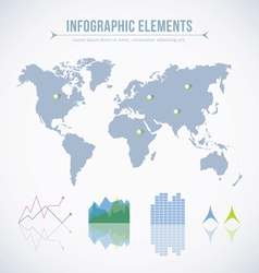 Info graphic elements vector