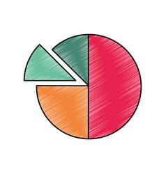 Graphic stats design vector