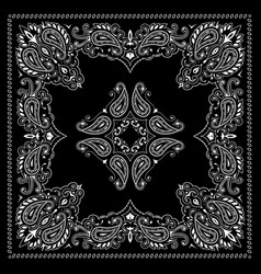 Bandana decorative ornament vector