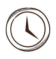 Clock symbol vector image vector image