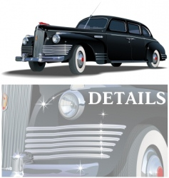limousine vector image vector image