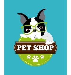 pet service design vector image vector image