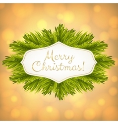 Christmas golden shiny background vector