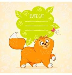 Kitten color vector