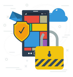 Mobile data protection and encryption vector