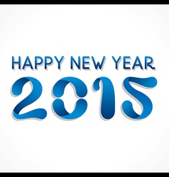 Happy new year greeting 2015 vector