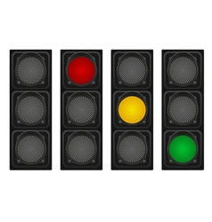 Traffic light 01 vector