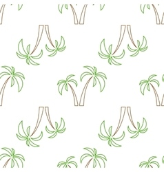 Palms seamless isolated vector