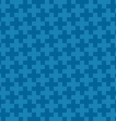 Blue plus background vector