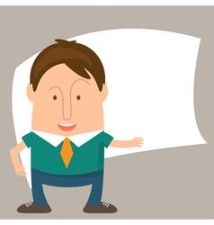 Businessman cartoon vector
