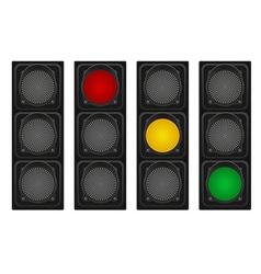 Traffic light 01 vector