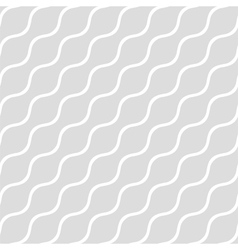 Wavy gray seamless simple background vector image vector image