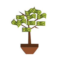 bill tree vector image